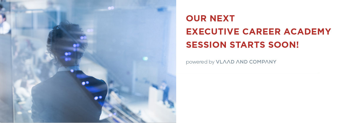 Our next executive career academy session starts soon!